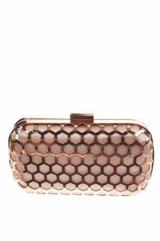 Γυναικεία τσάντα, Χρώμα Χρυσαφί, Κλωστοϋφαντουργικά προϊόντα, πολυουρεθάνης, Τιμή 16,24€