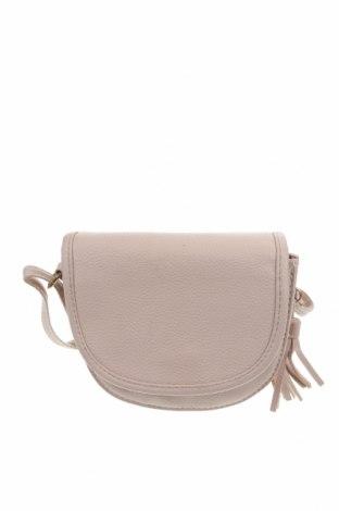 Дамска чанта, Цвят Бежов, Еко кожа, Цена 13,86лв.