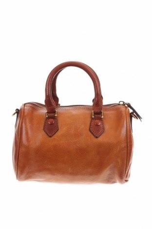 Дамска чанта, Цвят Кафяв, Естествена кожа, Цена 43,05лв.