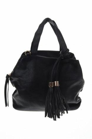 Дамска чанта, Цвят Черен, Еко кожа, Цена 29,40лв.