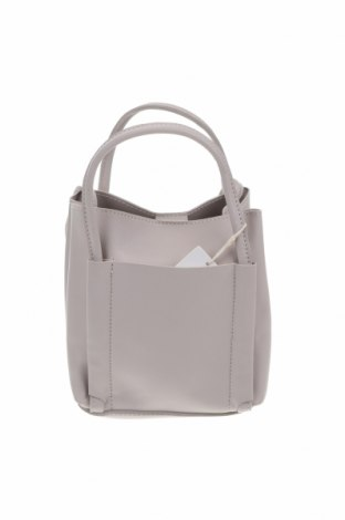 Дамска чанта, Цвят Сив, Еко кожа, Цена 41,90лв.