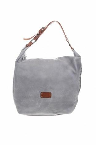 Дамска чанта, Цвят Сив, Еко кожа, Цена 27,30лв.