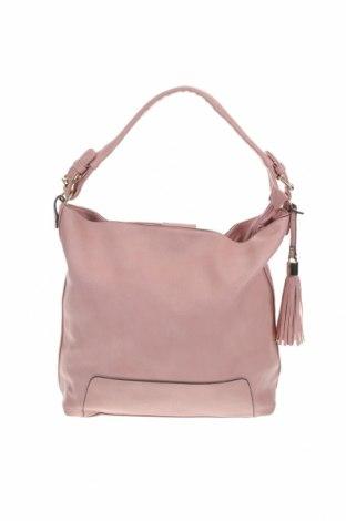 Дамска чанта, Цвят Розов, Еко кожа, Цена 30,92лв.