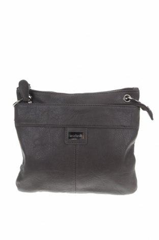 Дамска чанта Cabrelli, Цвят Кафяв, Еко кожа, Цена 26,25лв.