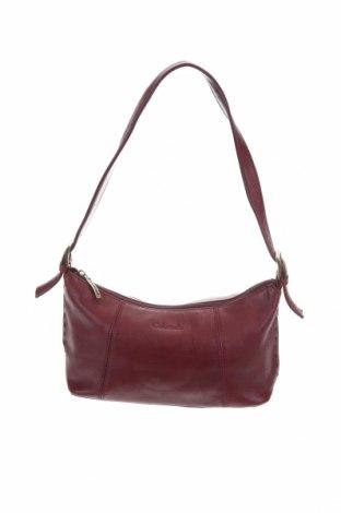 Γυναικεία τσάντα Colorado, Χρώμα Κόκκινο, Γνήσιο δέρμα, Τιμή 15,36€