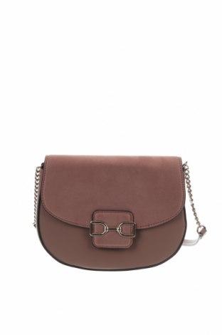 Дамска чанта H&M, Цвят Пепел от рози, Еко кожа, текстил, Цена 21,00лв.