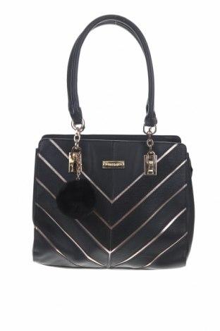 Дамска чанта Marikai, Цвят Черен, Еко кожа, Цена 25,94лв.