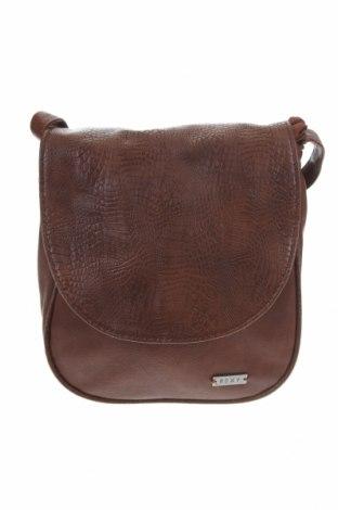 Дамска чанта Roxy, Цвят Кафяв, Еко кожа, Цена 26,25лв.