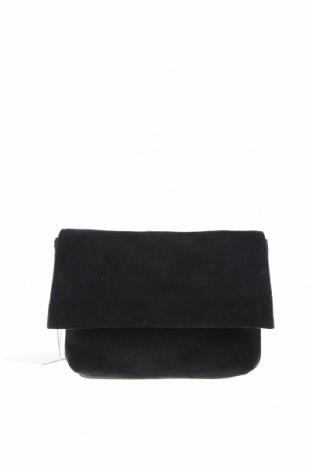 Дамска чанта Seed, Цвят Черен, Текстил, Цена 17,22лв.