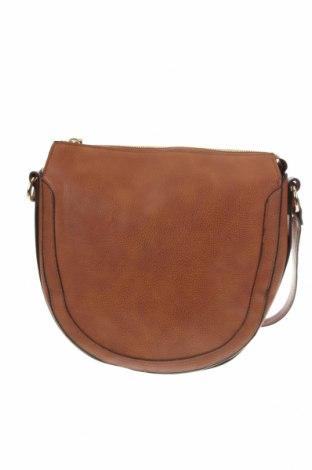 Γυναικεία τσάντα Sussan, Χρώμα Καφέ, Δερματίνη, Τιμή 8,87€