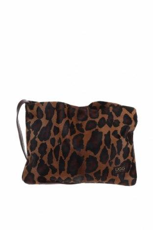 Дамска чанта UGG Australia, Цвят Многоцветен, Естествен косъм, Цена 135,45лв.