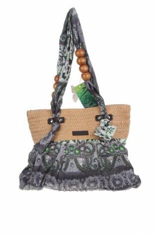 Γυναικεία τσάντα Verde, Χρώμα Πολύχρωμο, Κλωστοϋφαντουργικά προϊόντα, Τιμή 22,08€