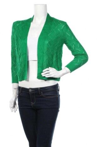 Дамска жилетка 89th & Madison, Размер S, Цвят Зелен, Акрил, Цена 11,55лв.