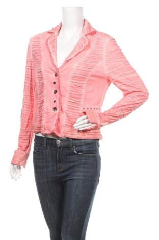 Дамска жилетка Biba, Размер S, Цвят Розов, 66% полиестер, 34% вискоза, Цена 25,20лв.