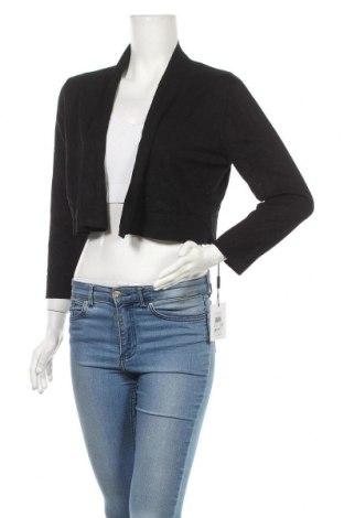 Дамска жилетка Calvin Klein, Размер L, Цвят Черен, 75% вискоза, 25% полиамид, Цена 11,14лв.