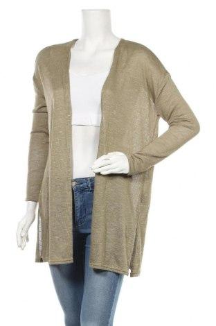 Дамска жилетка H&M Divided, Размер S, Цвят Зелен, 50% полиестер, 48% вискоза, 2% еластан, Цена 6,83лв.