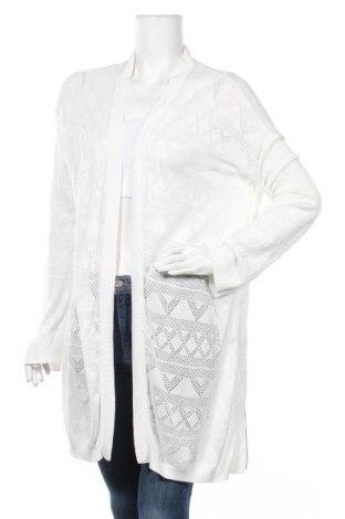 Дамска жилетка H&M Divided, Размер M, Цвят Бял, 50% акрил, 50% вискоза, Цена 6,30лв.