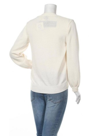 Дамска жилетка Massimo Dutti, Размер S, Цвят Екрю, 72% памук, 28% полиамид, Цена 29,44лв.