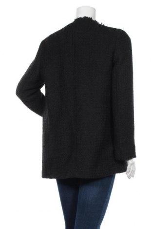 Дамска жилетка Massimo Dutti, Размер L, Цвят Черен, 39% акрил, 24% полиестер, 18% вълна, 17% памук, 2% вискоза, Цена 49,05лв.