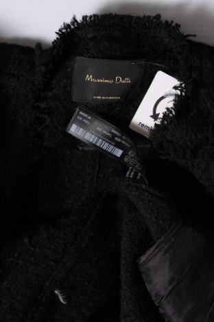 Дамска жилетка Massimo Dutti, Размер M, Цвят Черен, 39% акрил, 24% полиестер, 18% вълна, 17% памук, 2% вискоза, Цена 49,05лв.