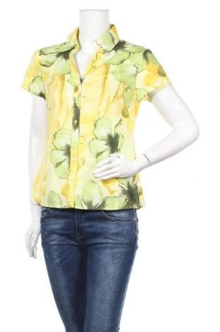 Дамска риза G.W., Размер S, Цвят Многоцветен, Памук, Цена 17,85лв.