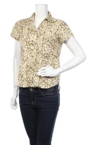 Дамска риза Gloria Vanderbilt, Размер M, Цвят Бежов, 55% памук, 45% вискоза, Цена 8,66лв.