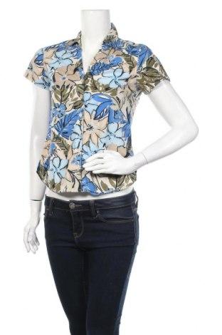 Дамска риза Gloria Vanderbilt, Размер S, Цвят Многоцветен, Памук, вискоза, Цена 4,20лв.