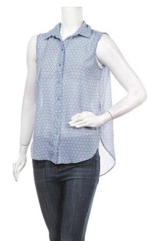 Дамска риза H&M, Размер S, Цвят Син, Полиестер, Цена 5,88лв.