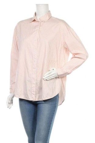 Дамска риза H&M, Размер S, Цвят Бял, Памук, Цена 11,66лв.