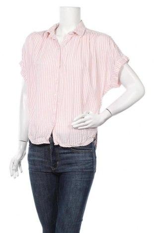 Дамска риза H&M L.O.G.G., Размер S, Цвят Розов, 70% модал, 30% памук, Цена 10,71лв.