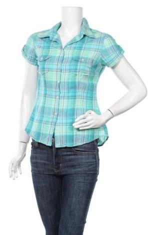 Дамска риза H&M L.O.G.G., Размер M, Цвят Син, Памук, Цена 10,92лв.