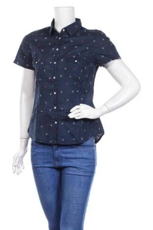 Дамска риза H&M L.O.G.G., Размер M, Цвят Син, Памук, Цена 10,50лв.