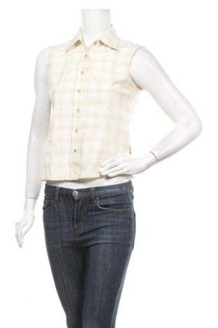 Γυναικείο πουκάμισο Icepeak, Μέγεθος S, Χρώμα  Μπέζ, 90% πολυεστέρας, 10% βισκόζη, Τιμή 3,31€