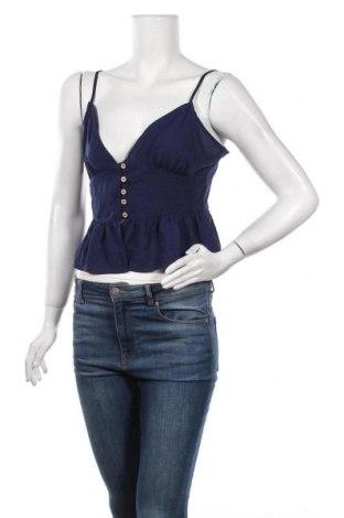 Дамска риза Iris, Размер L, Цвят Син, Полиестер, Цена 5,44лв.