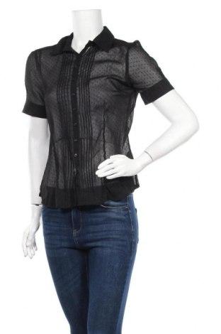 Дамска риза Jessica, Размер M, Цвят Черен, Полиестер, Цена 8,51лв.