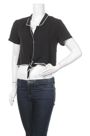 Γυναικείο πουκάμισο Lush, Μέγεθος M, Χρώμα Μαύρο, Πολυεστέρας, Τιμή 21,04€