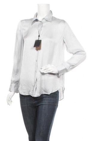 Γυναικείο πουκάμισο Massimo Dutti, Μέγεθος M, Χρώμα Γκρί, 75% βισκόζη, 25% lyocell, Τιμή 16,06€