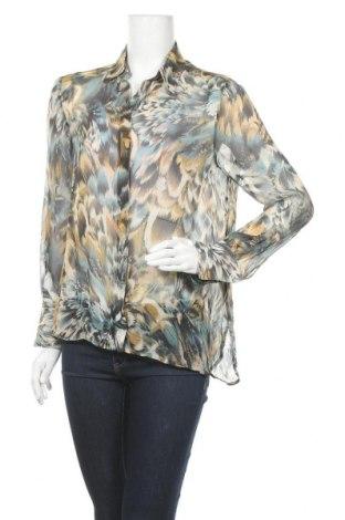 Дамска риза Massimo Dutti, Размер M, Цвят Многоцветен, Вискоза, Цена 35,26лв.