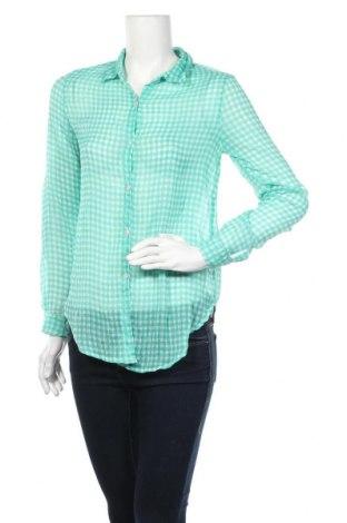 Γυναικείο πουκάμισο Pink Rose, Μέγεθος S, Χρώμα Πράσινο, Πολυεστέρας, Τιμή 3,86€