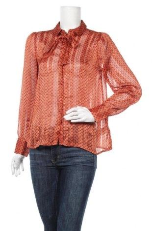 Γυναικείο πουκάμισο Soya Concept, Μέγεθος S, Χρώμα Πορτοκαλί, Πολυεστέρας, Τιμή 11,40€