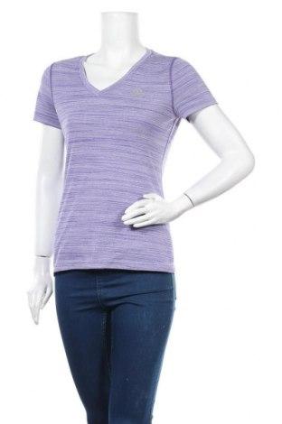 Γυναικεία αθλητική μπλούζα Adidas, Μέγεθος S, Χρώμα Βιολετί, Πολυεστέρας, Τιμή 18,19€