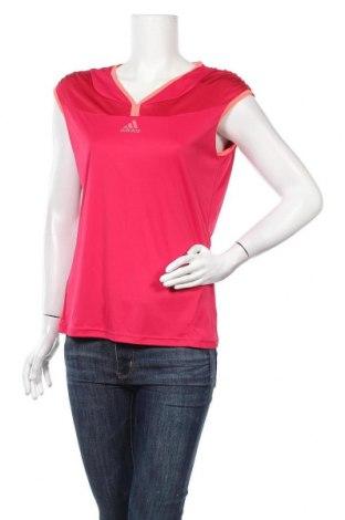 Γυναικεία αθλητική μπλούζα Adidas, Μέγεθος XL, Χρώμα Ρόζ , Τιμή 19,74€