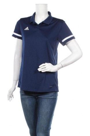 Γυναικείο t-shirt Adidas, Μέγεθος M, Χρώμα Μπλέ, Πολυεστέρας, Τιμή 25,52€