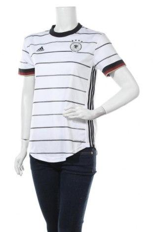 Γυναικείο t-shirt Adidas, Μέγεθος M, Χρώμα Λευκό, Πολυεστέρας, Τιμή 17,28€