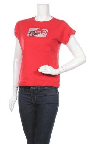 Дамска тениска Arizona Jean Co, Размер L, Цвят Червен, Памук, Цена 10,08лв.