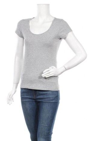 Дамска тениска Crivit, Размер M, Цвят Сив, 86% памук, 9% вискоза, 5% еластан, Цена 8,93лв.