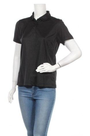 Дамска тениска Cutter & Buck, Размер M, Цвят Черен, Полиестер, Цена 9,50лв.