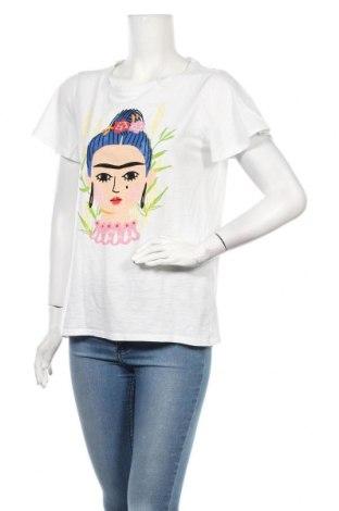Дамска тениска Esprit, Размер M, Цвят Бял, Цена 18,90лв.