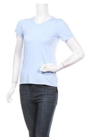 Дамска тениска Gap, Размер XS, Цвят Син, Памук, Цена 7,98лв.