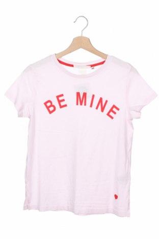Дамска тениска H&M L.O.G.G., Размер XS, Цвят Розов, Памук, Цена 11,76лв.